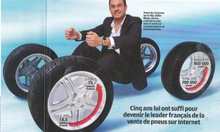 Revue de presse: Allopneus, un discounter très gonflé dans le magazine Capital