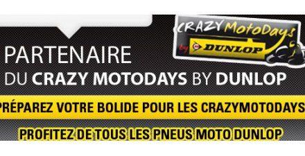 Allopneus partenaire du Crazymotodays by Dunlop