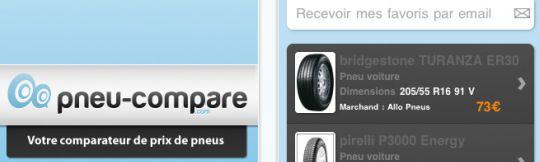 pneu compare