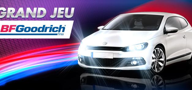 Jeu concours BFGOODRICH: gagnez un Scirocco de Volkswagen