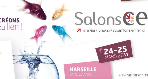 Les 24-25 Mars 2011, rendez-vous au salon CE Marseille