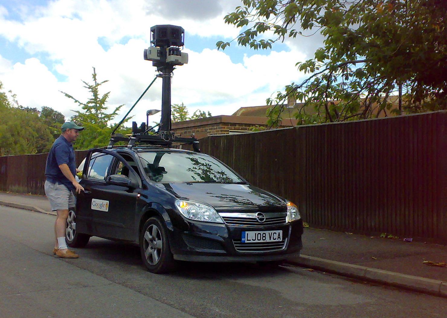 Google_Street_View_Car_in_Southampton