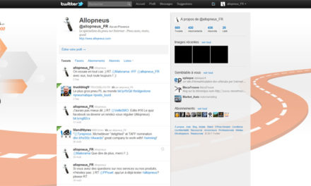 Edito #8 De l'activité sur les réseaux sociaux d'Allopneus