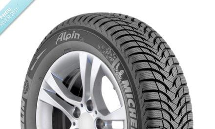 Pneu hiver 2011 : Michelin Alpin A4