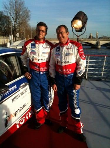 Jean-Pierre Pernaut et Olivier Pernaut pour le Trophée Andros