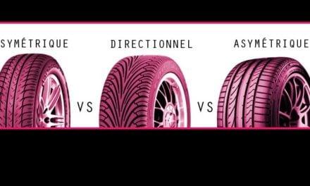 [Que sais-je] Les différents profils pneus : symétrique, directionnel, asymétrique