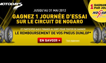 Un petit tour de circuit, ça vous tente ? Le mois Dunlop débarque sur Allopneus.