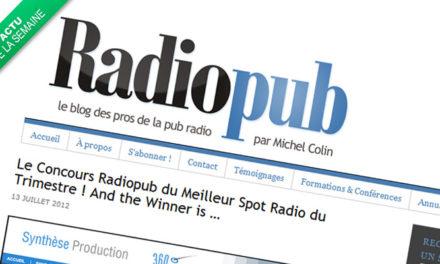 La pub Allopneus élue meilleure pub radio du trimestre.