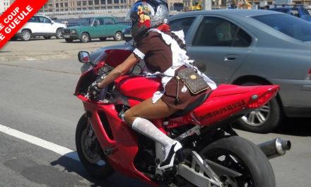 La moto, c'est comme le sexe.