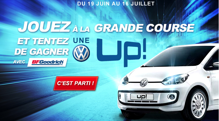 Mais qui est le gagnant de la Volkswagen UP ?