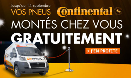 En septembre, nous vous offrons le montage de pneu à domicile !