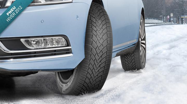 Nouveau pneu hiver Continental ContiWinterContact TS 850. Envoie-t-il vraiment du pâté ?