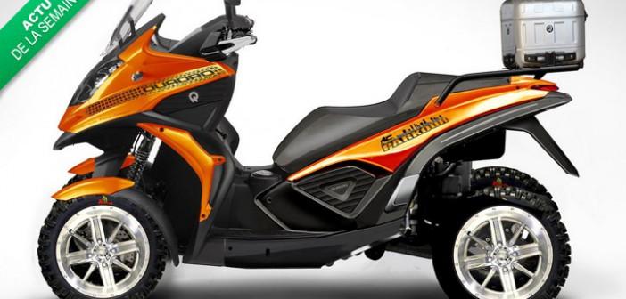 la moto 4 roues faudrait voir pas pousser m m dans les orties. Black Bedroom Furniture Sets. Home Design Ideas