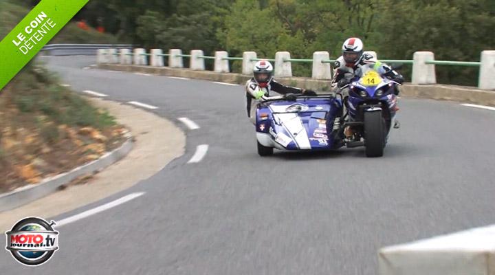 [Vidéos]Laurent Cochet, le motard buzz du moment, a fait le Dark Dog Moto Tour