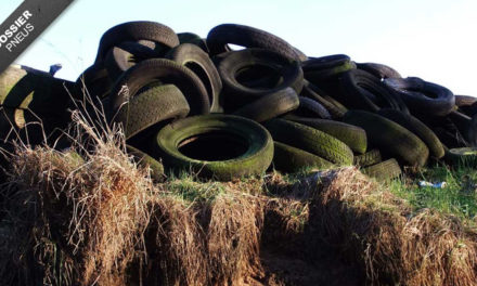 Recyclage des pneus: ce qu'il faut savoir