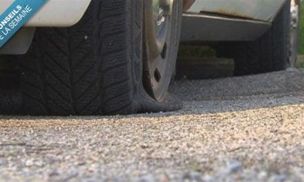 Réparer un pneu crevé : mode d'emploi