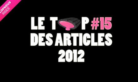 Le top 15 des billets publiés sur Chewing-Gomme de 2012