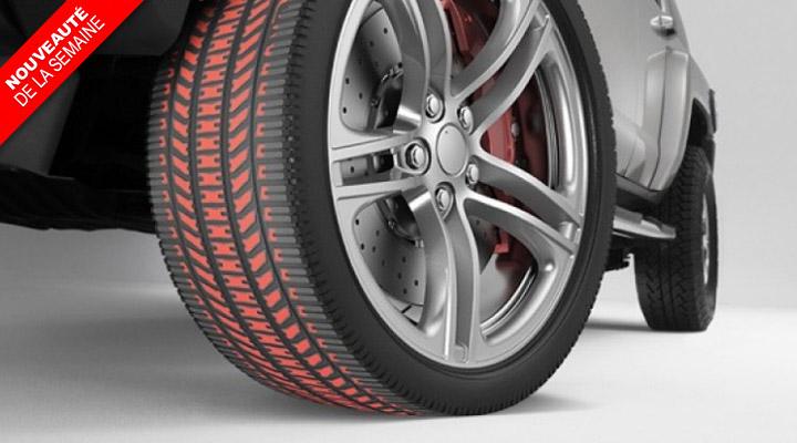 De la couleur pour lutter contre l'usure des pneus ?