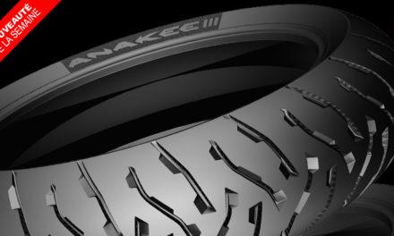 Nouveauté pneu moto : Michelin Anakee 3