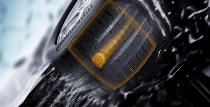 continental lutte contre la mauvaise pression de nos pneus chewing gomme. Black Bedroom Furniture Sets. Home Design Ideas