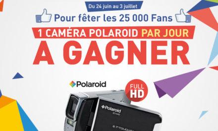 Jeu concours. Jusqu'au 3 juillet, une caméra HD à gagner par jour.