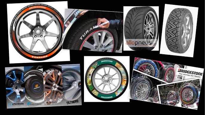 """Le top 10 des pneus les plus """"stylés"""""""