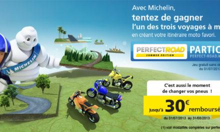 Tu ne sais pas quoi faire de tes vacances ? Michelin t'offre un Road-Trip moto