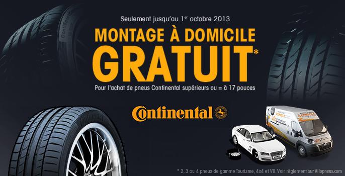 Montage à domicile gratuit jusqu'au 1er octobre 2013* !