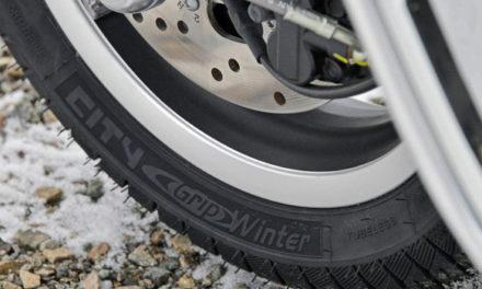 City Grip Winter – Enfin un pneu hiver Michelin pour les scooters.