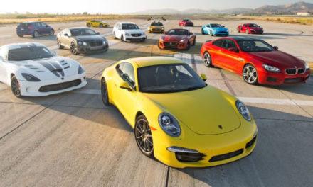 Top 12 des voitures de prestige, et leur pneus d'origine