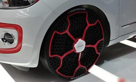 Nouvelle technologie Hankook : Le pneu i-Flex
