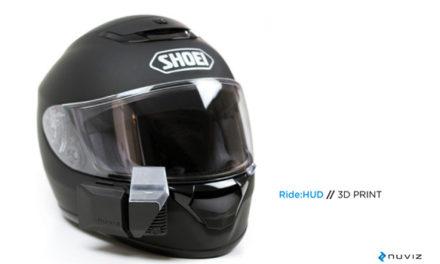 Une révolution pour les motards : écran tête haute (HUD)
