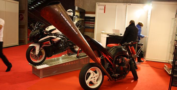Salon de la moto Paris 2013 [2/3] Les insolites du Salon (26 images)