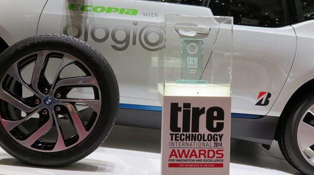 """Le nouveau pneu """"ologic"""" de Bridgestone"""