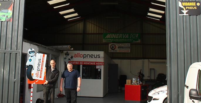 Le 5000ème centre partenaire Allopneus.com