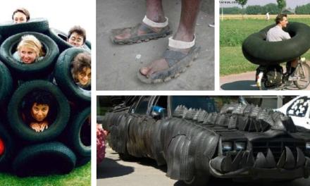 10 façons originales d'utiliser des pneus