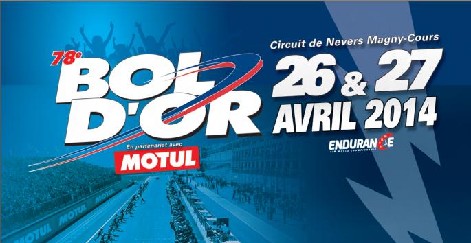 [Nous y étions] Bol d'Or au circuit Nevers Magny-Cours les 26&27 avril 2014