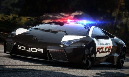 Voitures de police de luxe