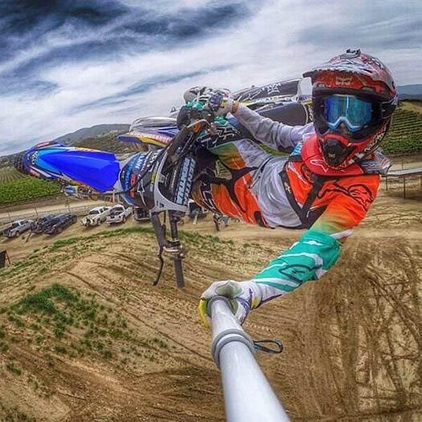 moto cross gopro