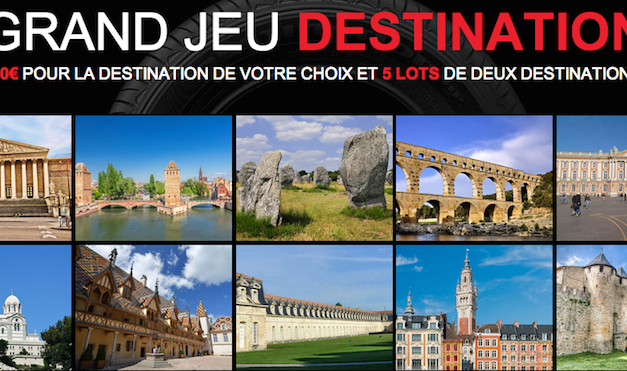 "Jeu ""Destination Firestone"""