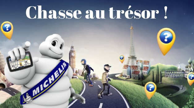 Chasse au trésor avec Michelin moto : une roadster à gagner !