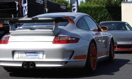 Michelin et le Porsche Club Motorsport sur le Circuit du Castellet