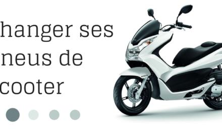 Changer ses pneus scooter : mode d'emploi