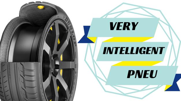 Dunlop et le pneu intelligent