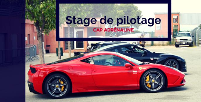 Stage de pilotage Ferrari 458 Spéciale avec Cap Adrénaline