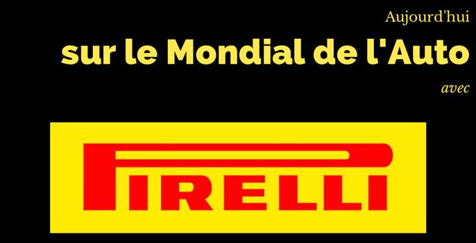 [INTERVIEW] Pirelli sur le Mondial de l'Auto 2014