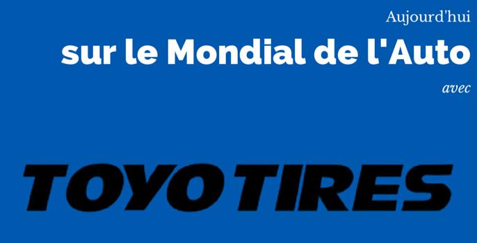[INTERVIEW] TOYO sur le Mondial de l'Auto 2014
