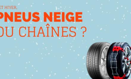Pneu neige ou chaînes ?