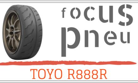 Focus sur le nouveau pneu TOYO R888R
