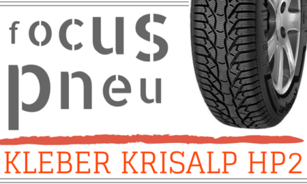 Focus pneu : le Kleber Krisalp HP2